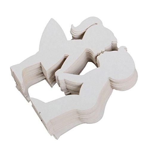 Cut Name Platz Karte Cup Papierkarte Tischdekoration Mark Weinglas Hochzeit
