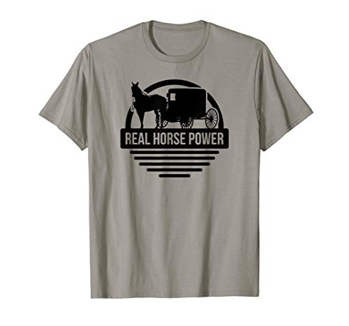 Horse Carriage Meme Rolling Buggy What's The Rush T-Shirt
