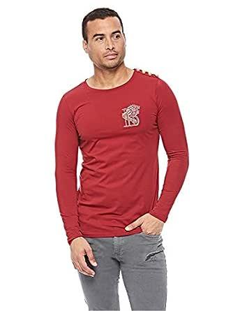 Balmain T-Shirt for Men - Red