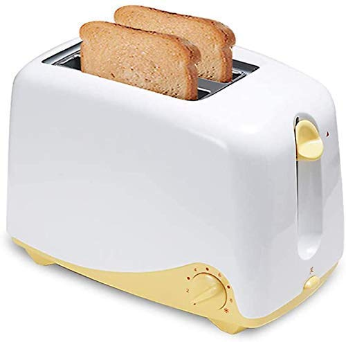 ykw Breadmaker Household 2 Slice Toaster Electric Automatic Toaster Bread Baking Maker with Dust Cover Toast