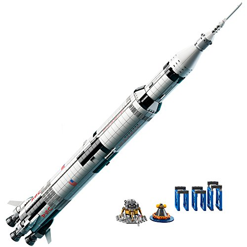 LEGO Ideas NASA Apollo Saturn V (21309) - Building Toy and Popular Gift for Fans of LEGO Sets and Space (1969 Pieces)