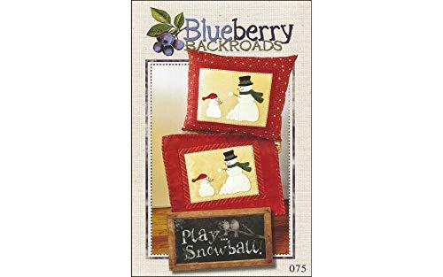 Blueberry Backroads Play Snowball Pattern ()
