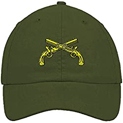 13ae23b5f47 Military Police Insignia Embroidery Twill Cotton 6 Panel Low Profile Hat  Olive Green. amazon.com
