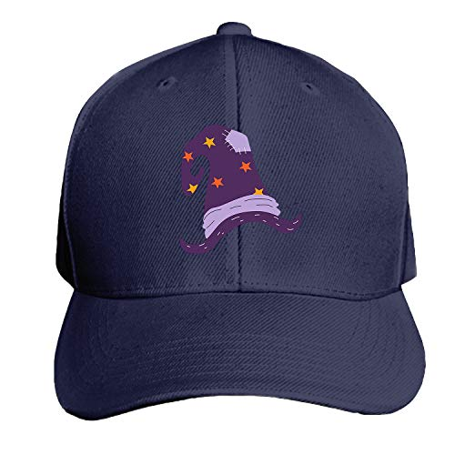 Halloween Witch Unisex Washed Twill Baseball Cap Adjustable Peaked Sandwich ()