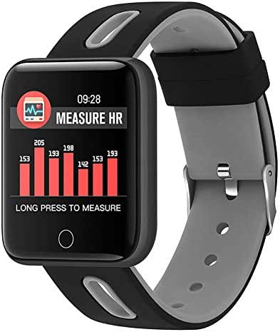 LWPCP Smart Bracelet, Heart Rate Blood Pressure Sleep Monitoring Exercise Calorie Calculation Positioning Fitness Tracker Built-in 180 mAh Battery,3