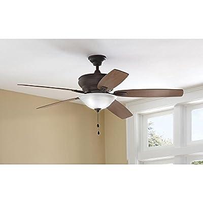 Trafton 60 in. Oil Rubbed Bronze Ceiling Fan