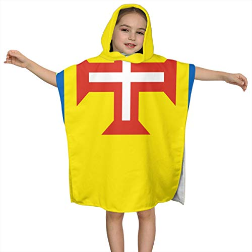 Flag of Madeira Shower Towel Quick Dry Kid