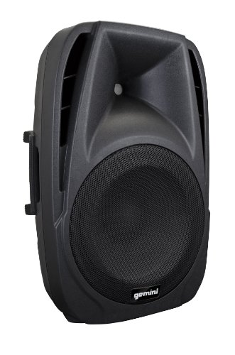 Gemini DJ ES-15BLU Powered ABS Loudspeaker with Mp3 Player and Bluetooth