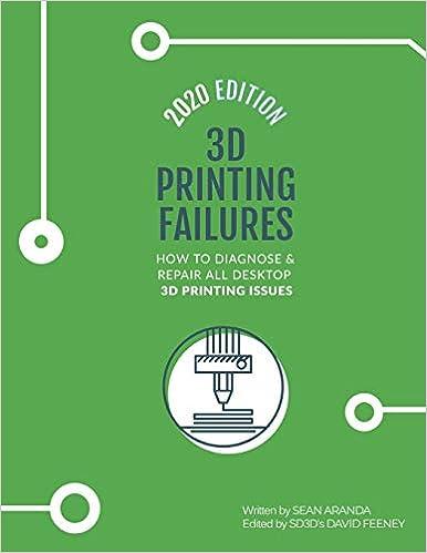 3D Printing Failures: 2020 Edition: How to Diagnose and Repair ALL Desktop 3D Printing Issues – Sean Aranda