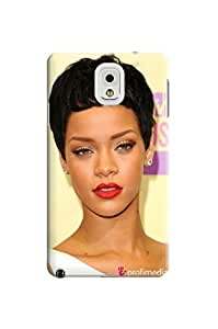 2014 attractive popular Rihanna fashionable TPU phone Case Shell Protective Cover for Samsung Galaxy note3