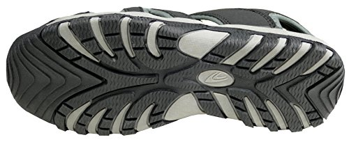 Gibra Men's Sandali Grigio Fashion Nero wx1qUXx