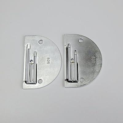 Placa de aguja B26 para máquina de coser industrial Brother Juki ...