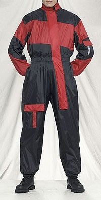 Red Motorcycle Suit - 3