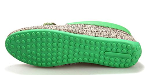 Paresseuses green Coréens Summer Chaussures Peas Chaussures Chaussures Chaussures Hommes DHFUD Occasionnelles 1wTq6HBwx