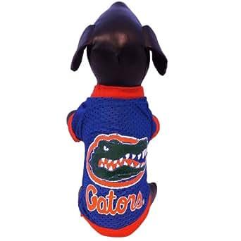 NCAA Florida Gators Athletic Mesh Dog Jersey, Team Color, XX-Small