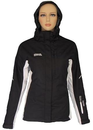 Nordblanc Mujer Nieve Sport Chaqueta Zara Negro de color blanco 38 – 48, negro,