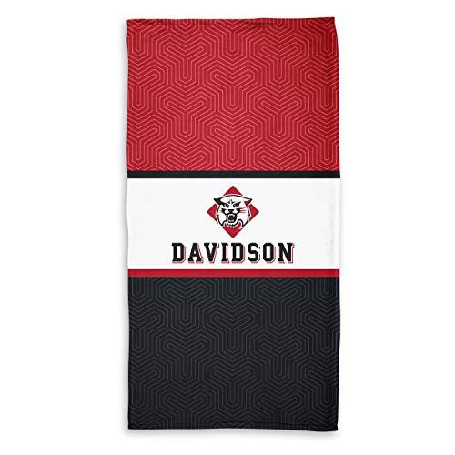 Wildcats Printed Towel - Official NCAA Davidson Wildcats - Beach Towel