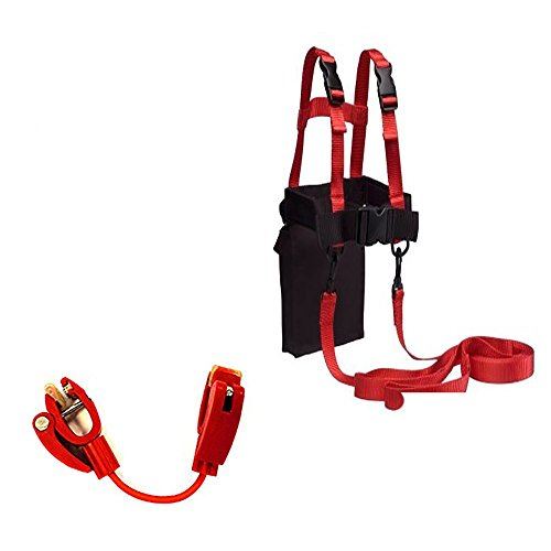 Lucky Bums Ski Trainer Kit, Red, One Size