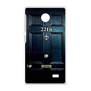221B Door Cell Phone Case for Nokia Lumia X