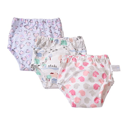 Baby Toddler Baby Girls Reusable Toilet Pee Potty Training pants Cloth diapers Underwear