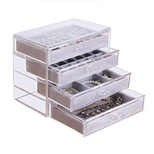 HYJBGGH Jewelry Boxes Organizers Jewelry Box,Earrings Storage