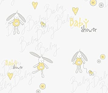 Baby Shower Wrapping Paper For Gifts U0026 Presents Eco Friendly Gift Wrap 4  Sheets U0026 4