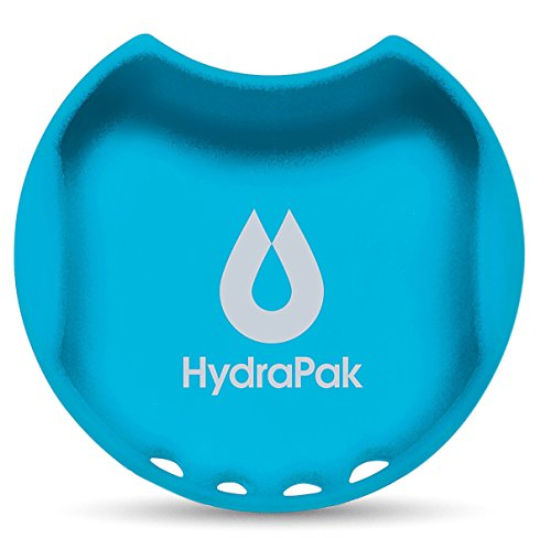 Hydrapak Watergate Wide Mouth Splash Guard, Malibu Blue, (63mm Adapter)