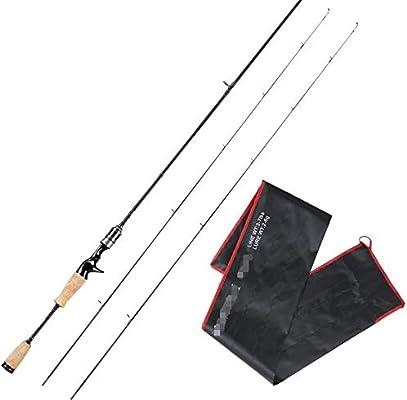 L MEIQUN, 1.8M Lure Rod 602 UL Power Carbon Fishing Rod 2