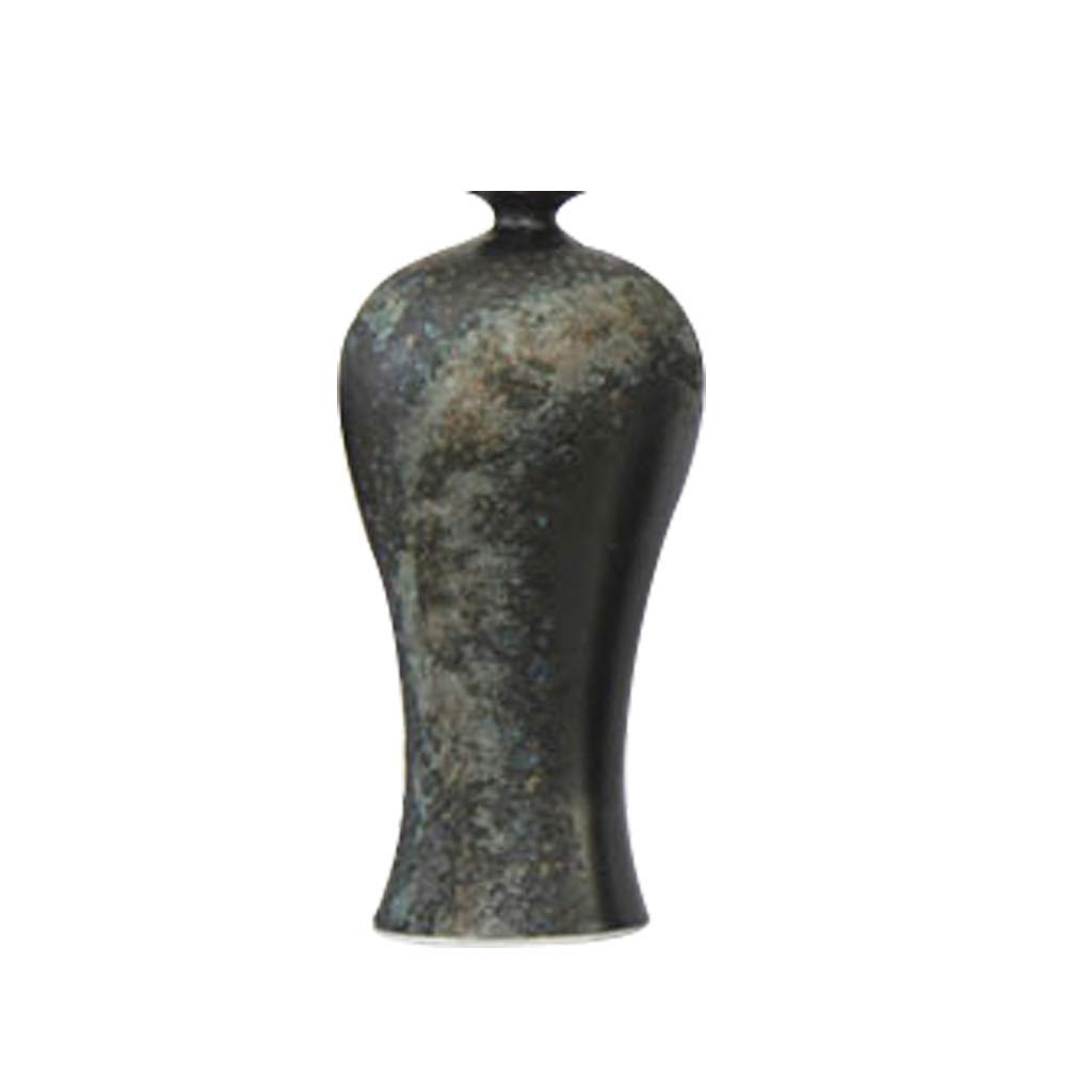 中国梅瓶セラミック花瓶クリエイティブホームリビングルームテレビキャビネット装飾家具 LQX B07R128GY4