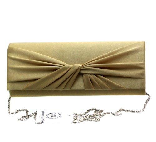 Fashion4Young, Poschette giorno donna Oro oro