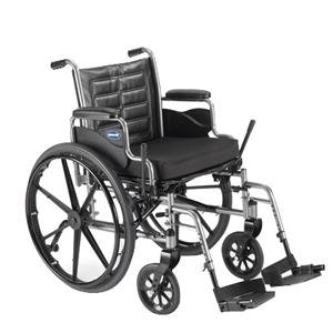 Invacare TREX28RP Tracer EX2 Wheelchair, Desk Length Arms, 1