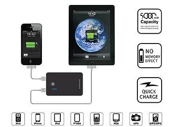 Soporte de-it Monoprice 109283 5000 mAh batería externa con ...