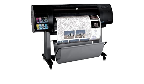 HP Designjet Z6100ps - Plotter (600 x 1200 DPI), negro: Amazon.es ...