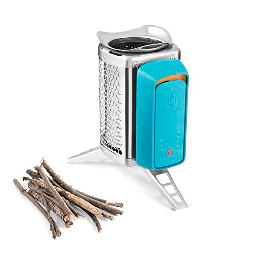 BioLite CookStove Lightweight Wood Burning Camp Stove (Wood Stove Generator)