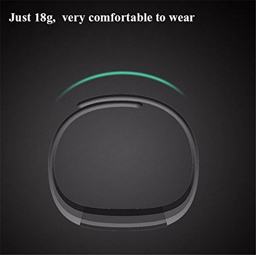 TopBest Fitness Tracker Smart Bracelet ID115 Bluetooth Call Remind Remote Self Timer Smart Watch Activity Tracker Calorie Counter Wireless Pedometer Sport Band Sleep Monitor For Android iOS Phone …