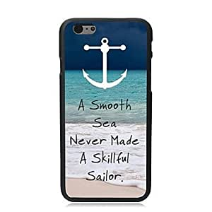 """For iPhone 6 Plus Case, Fashion A Smooth Sea Pattern Protective Hard Phone Cover Skin Case For iPhone 6 Plus (5.5"""") + Screen Protector"""