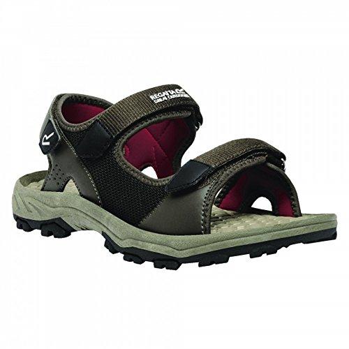 Peat Sandals Great Outdoors Delhi Mens Red Regatta Terrarock wXg7wz
