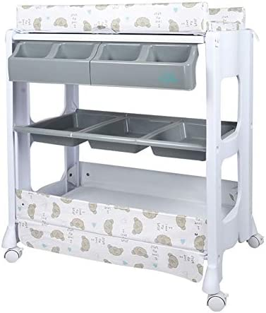 赤ちゃんのおむつおむつ交換台ユニット、幼児新生児保育園ステーションドレッシングチェンジャー、スタイル任意 (サイズ さいず : Style 5)