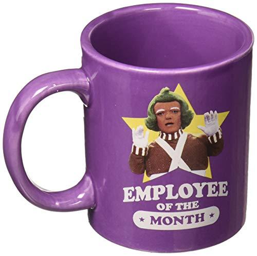 Aquarius 47124 Willy Wonka Employee of the Month ceramic mug, Medium, multicolor