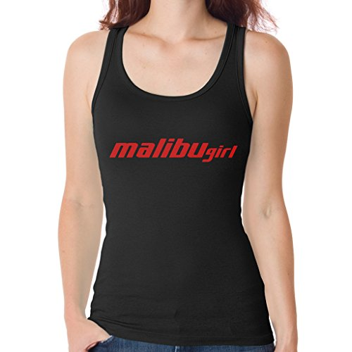 Fairystore Womens Malibu Boats Malibu Gym Tank Top Medium Black