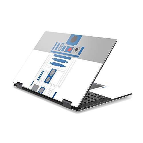 MightySkins Skin Compatible with DELL XPS 13 9365 2-in-1 (2017) - Cyber Bot | Protective, Durable, and Unique Vinyl Decal wrap Cover | Easy to Apply, Remove, and Change Styles | Made in The USA
