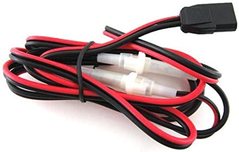 """NEW 2 PIN 24/"""" 8 GAUGE GA EXTRA HEAVY DUTY POWER CORD CABLE QUICK DISCONNECT"""