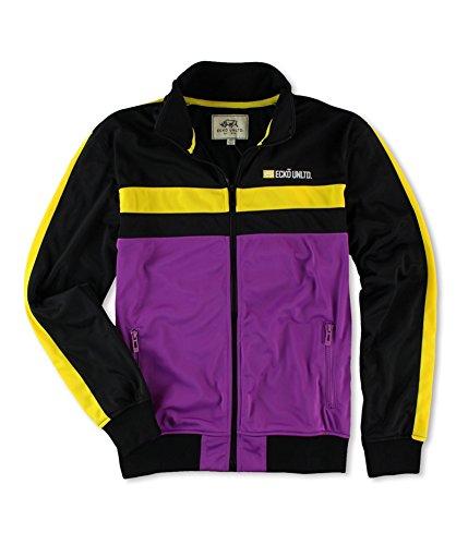 Ecko Unltd. Mens Poly Tricot Track Jacket Purple (Poly Tricot Jacket)