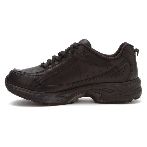 Dessiné Chaussures Chaussures De Voyage Pour Hommes Noir Veau
