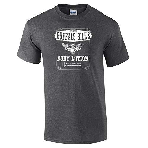 - 355 Buffalo Bill Body Lotion Funny Men's T Shirt Dark Heather