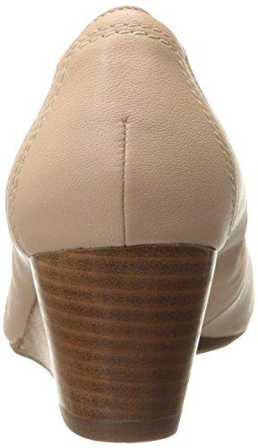 Bomba Clarks birmana Arte Wedge Blush Pink Leather