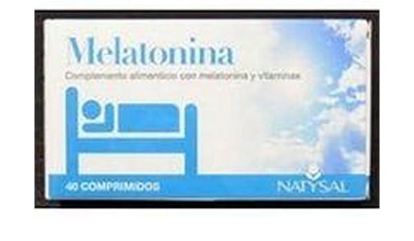 Melatonina 40 comprimidos de Natysal: Amazon.es: Salud y cuidado personal