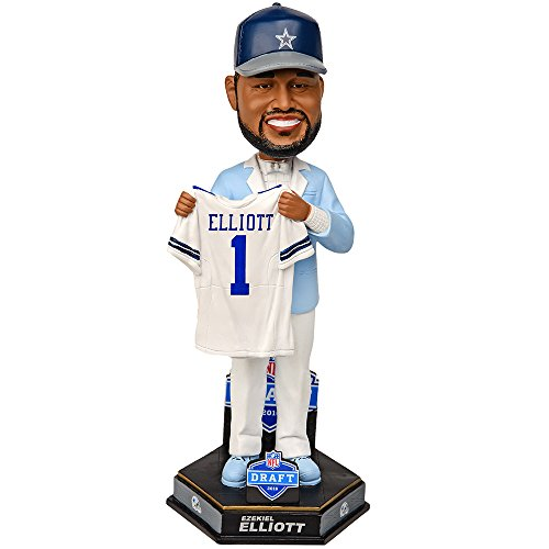 Ezekiel Elliot Dallas Cowboys 2016 Draft Day Bobblehead