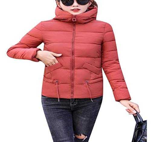 Parka Mini Down Mogogo Hood Coat Packable Jackets AS2 Outwear Womens Thick 05nnqP