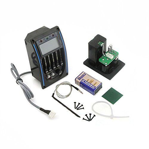 Fastmusic LC-5 Preamp EQ Tuner Piezo w/Pickup For Acoustic Guitar by Generic (Image #1)